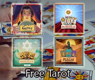 the Tzigane or gypsy Tarot: free online
