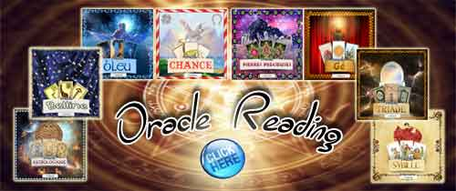 Discover our free oracles reading online