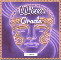 free wiccan oracle